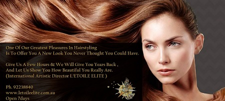 NEW $89 Keratin Straightening Treatment only available at LETOILE Elite Sydney CBD